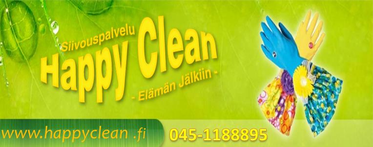Siivouspalvelu Happy Clean.
