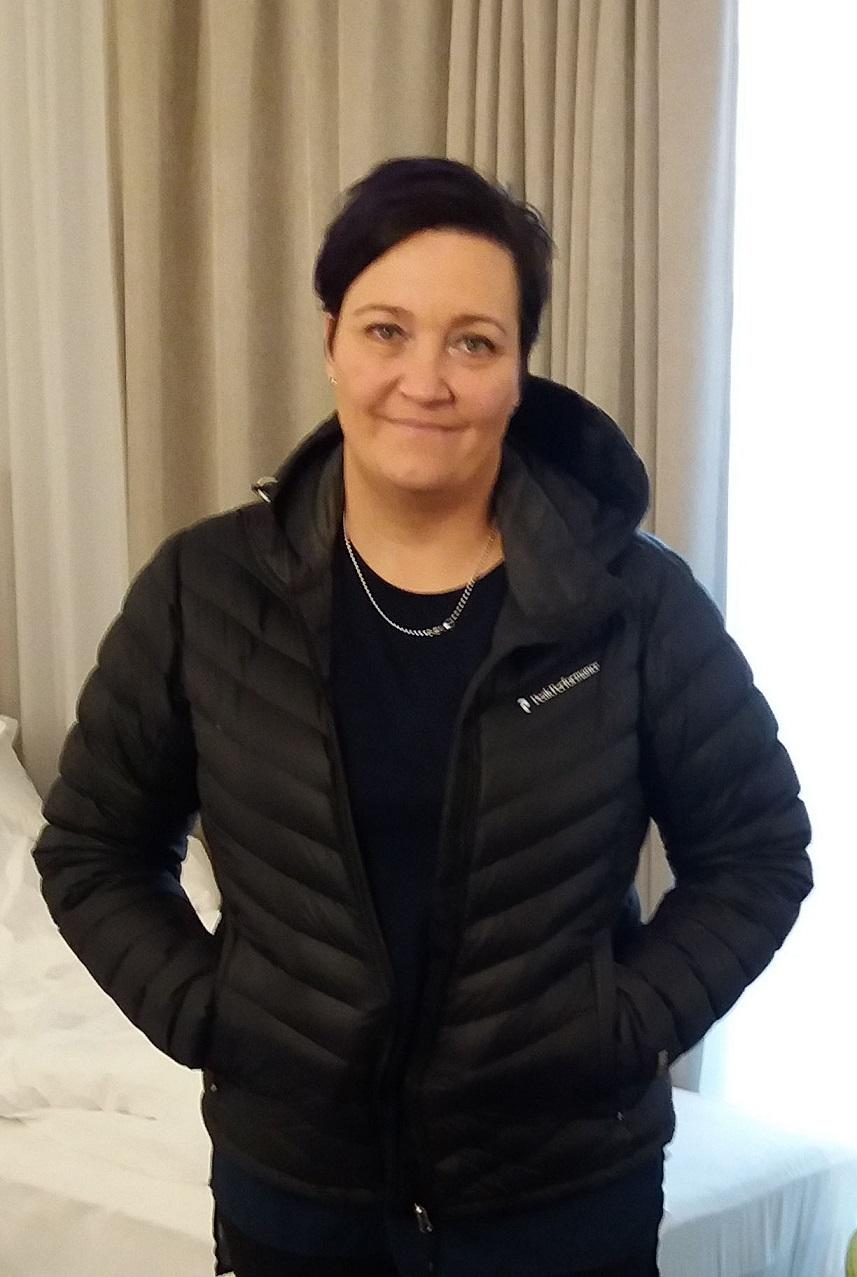 Turun kaupungin sairaanhoitaja Henna Haltia